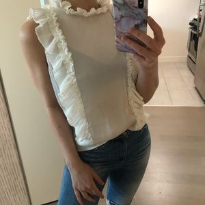 Antonio Melani Ruffle Top